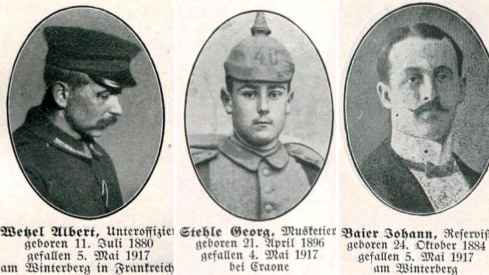 Некоторых из 270 солдат, чьи жизни унес тоннель Винтерберг, были опознаны