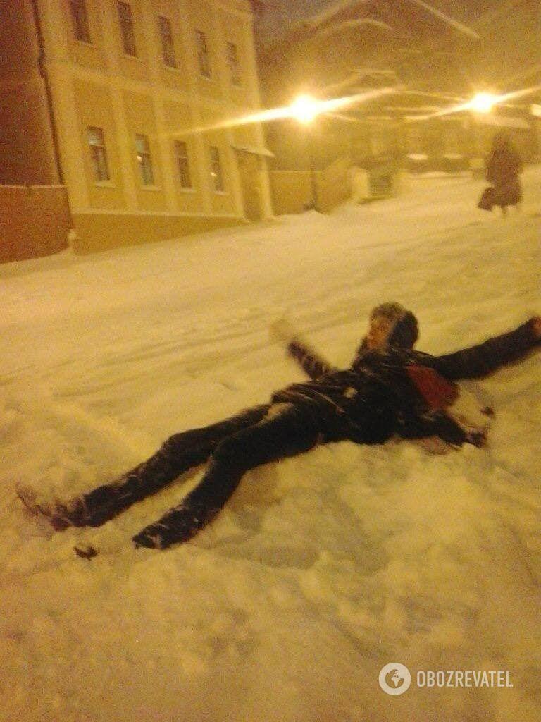 Несподіваній зимі багато хто був радий.