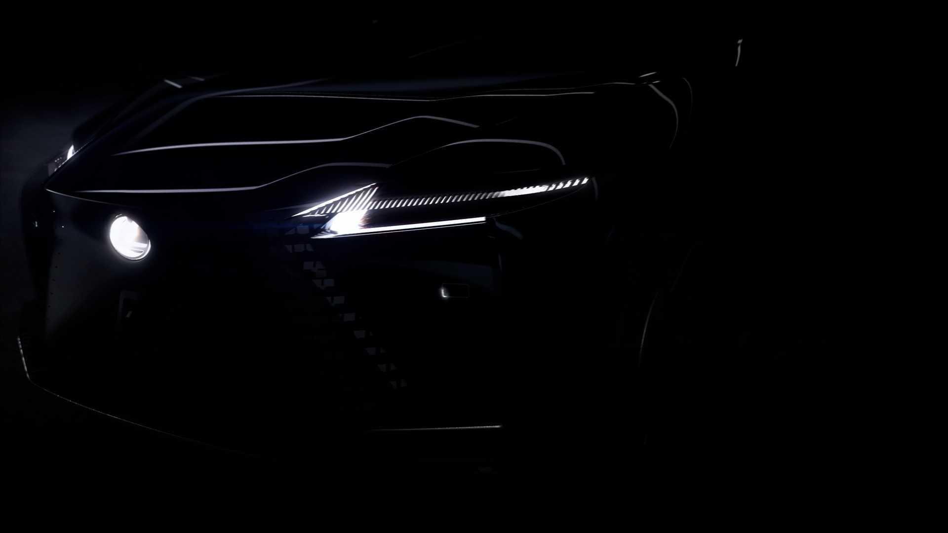 Загадочная модель Lexus дебютирует 30 марта
