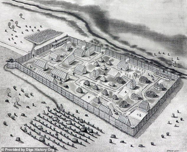 Предполагаемый вид поселения