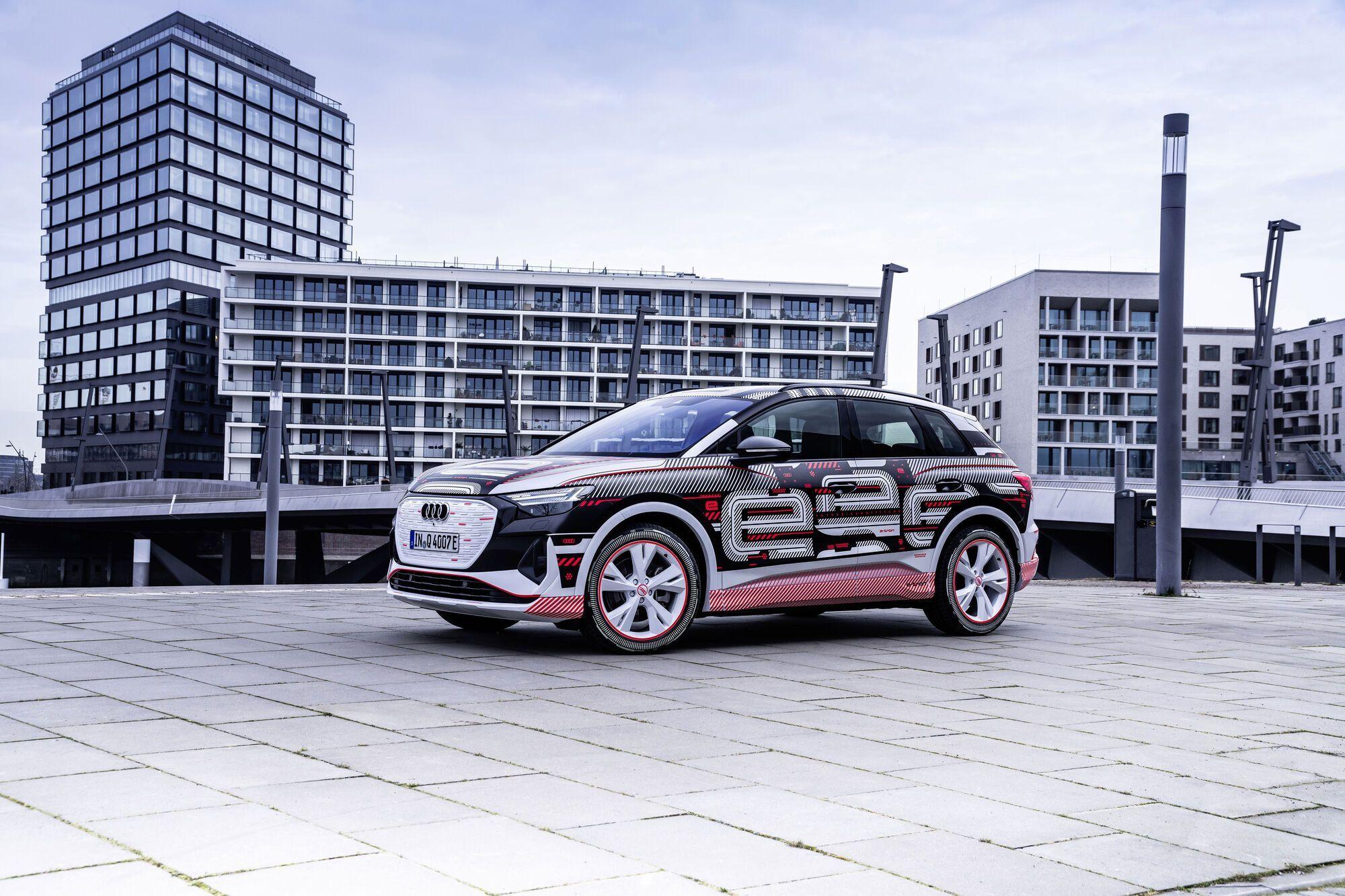 Audi Q4 e-tron использует в своей основе глобальную платформу MEB