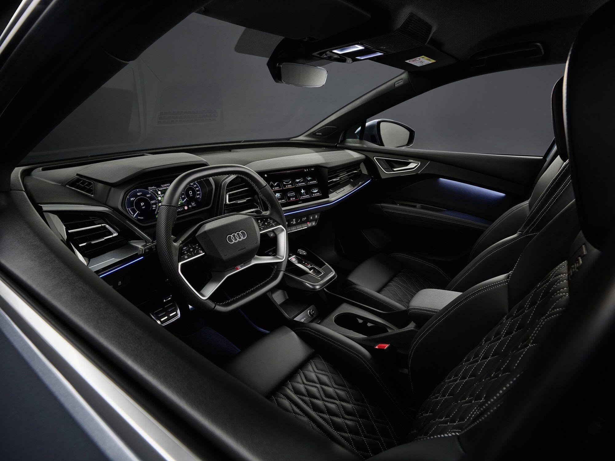 Audi Q4 e-tron получит полностью цифровой кокпит