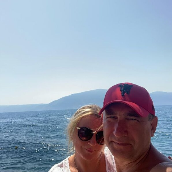 Інна Білоконь у відпустці зі своїм коханим