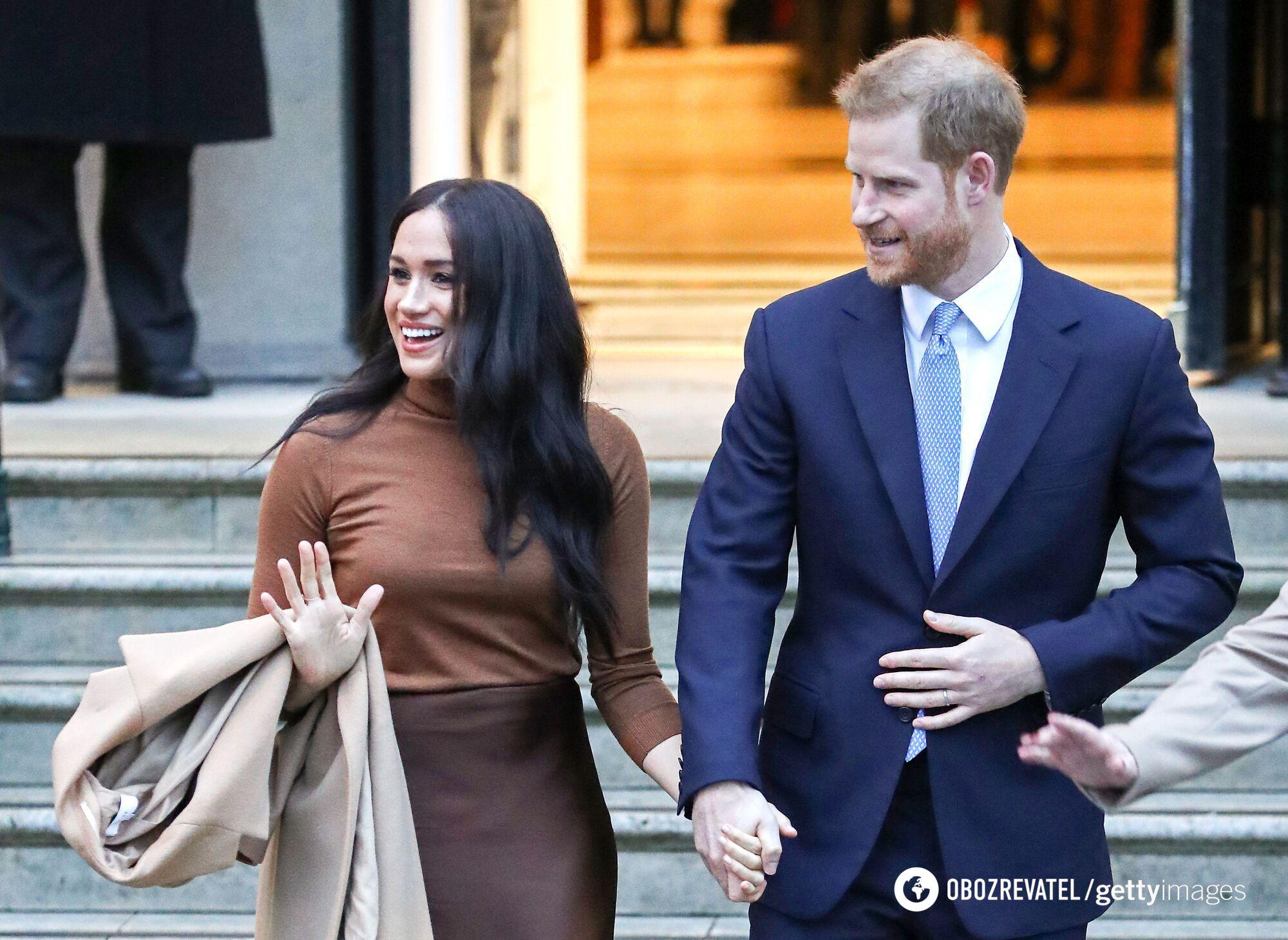 Принц Гаррі на публіці разом зі своєю дружиною Меган Маркл