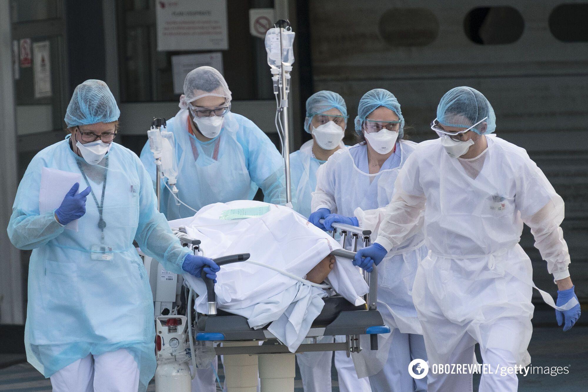 За последние сутки 23 марта в Украине госпитализировали 2 519 пациентов