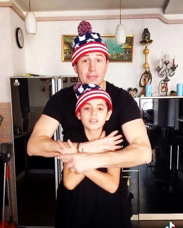 Андрей Джеджула станцевал с 12-летним сыном Даниэлем