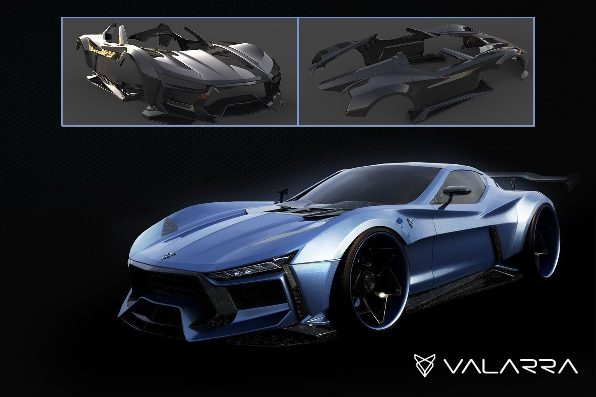 Дизайнеры и инженеры компании Valarra из Сент-Питерсберга, представили проект тюнинга для Chevrolet Corvette C6