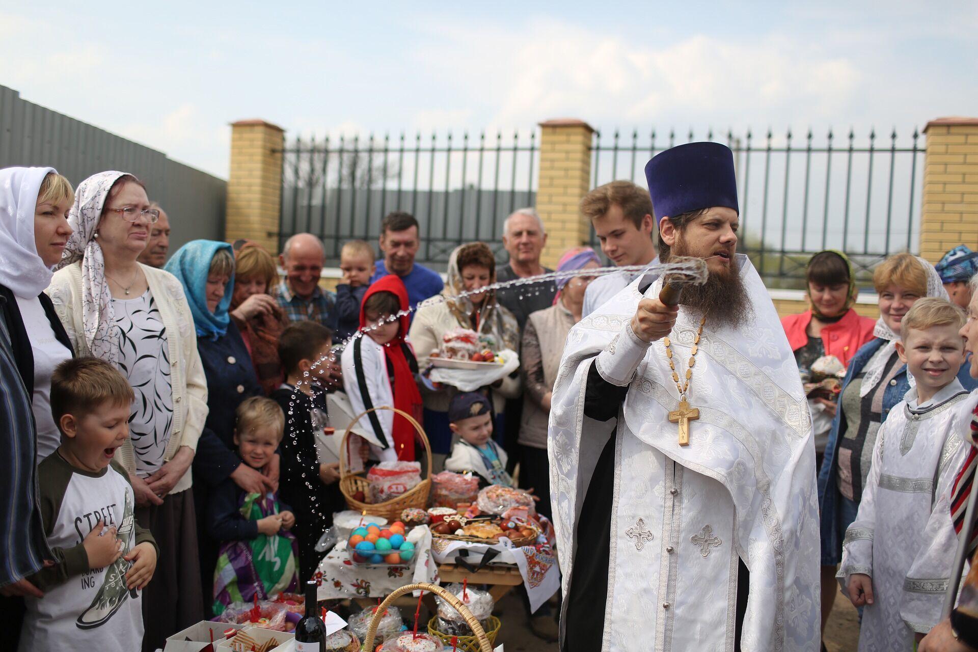 Православная Пасха отмечается в один из дней с 4 апреля по 8 мая включительно