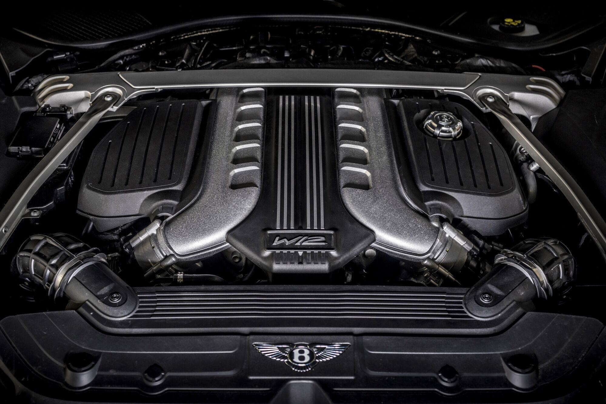 Мощность 6-литрового W12 увеличили с 635 до 659 л.с.