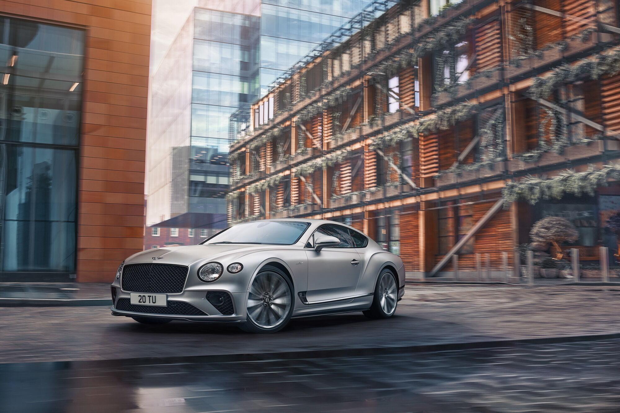 Bentley расширила семейство купе Continental новой версией GT Speed