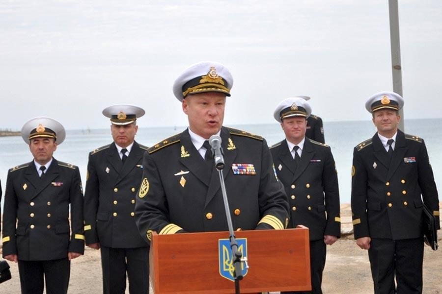 Колишній перший заступник командувача ВМС ЗСУ Сергій Єлісєєв