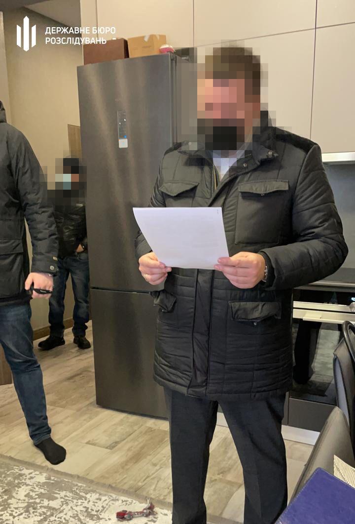 Вручення підозри депутату Житомирської міськради.
