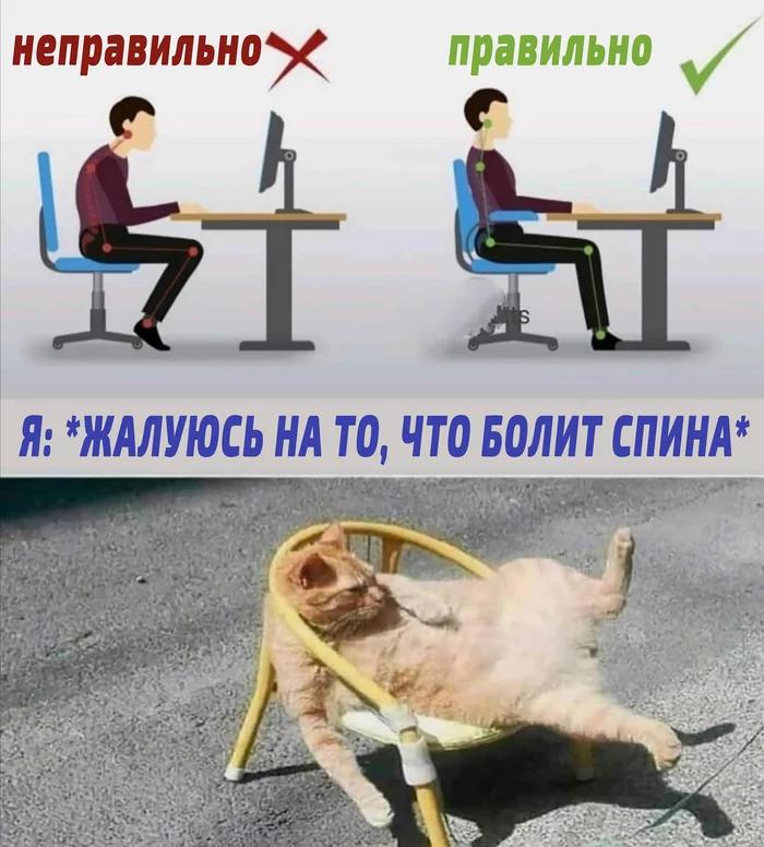 Мем о работе за компьютером