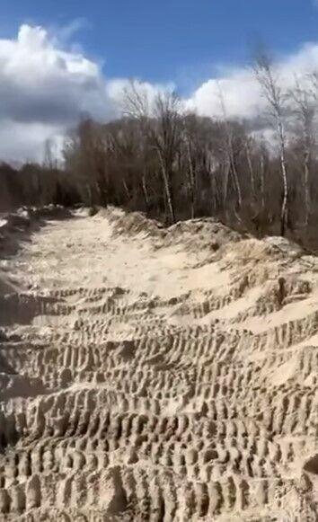 Місце, де викрали тисячі тонн річкового піску
