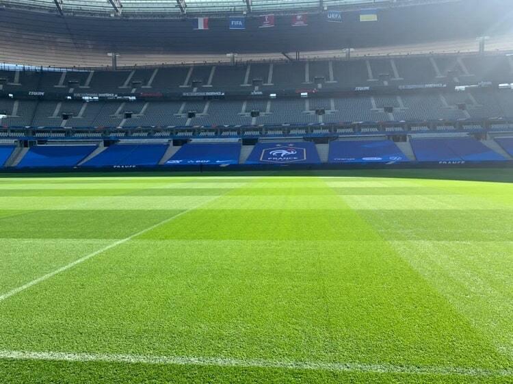 """""""Стад де Франс"""" перед матчем."""