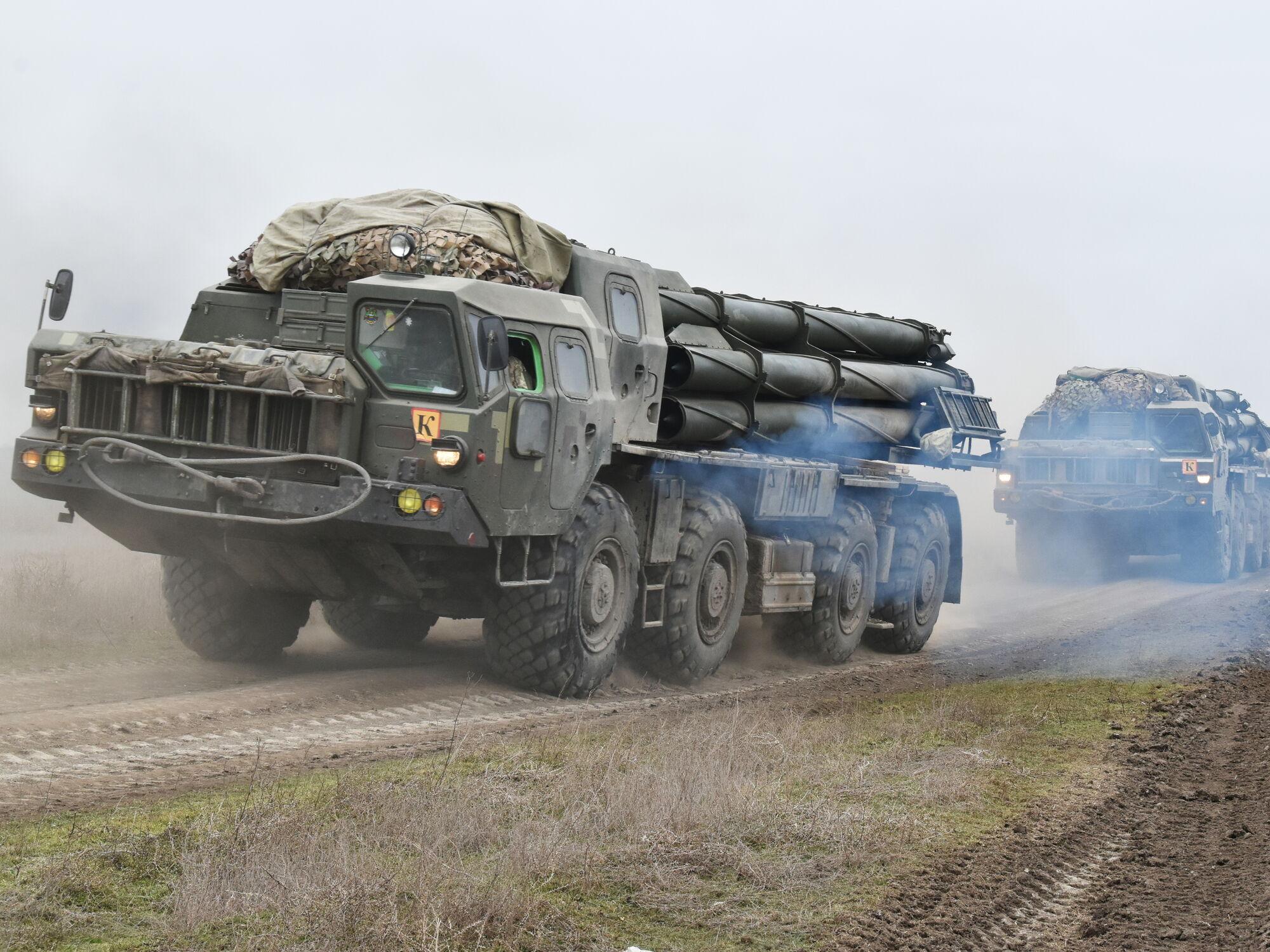 Масштабні маневри ЗСУ поблизу окупованого Криму