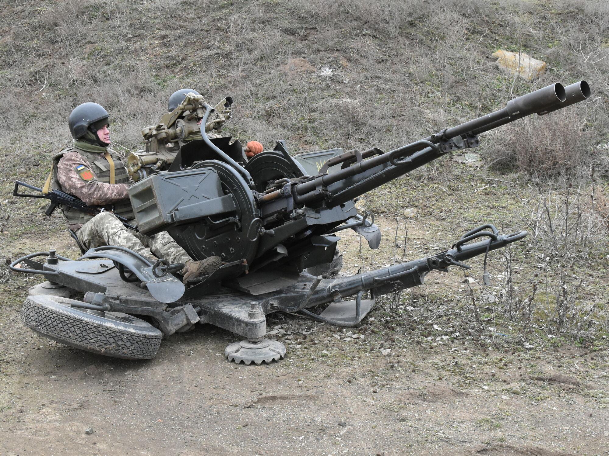 У навчаннях біля Криму також взяли участь зенітники ЗСУ
