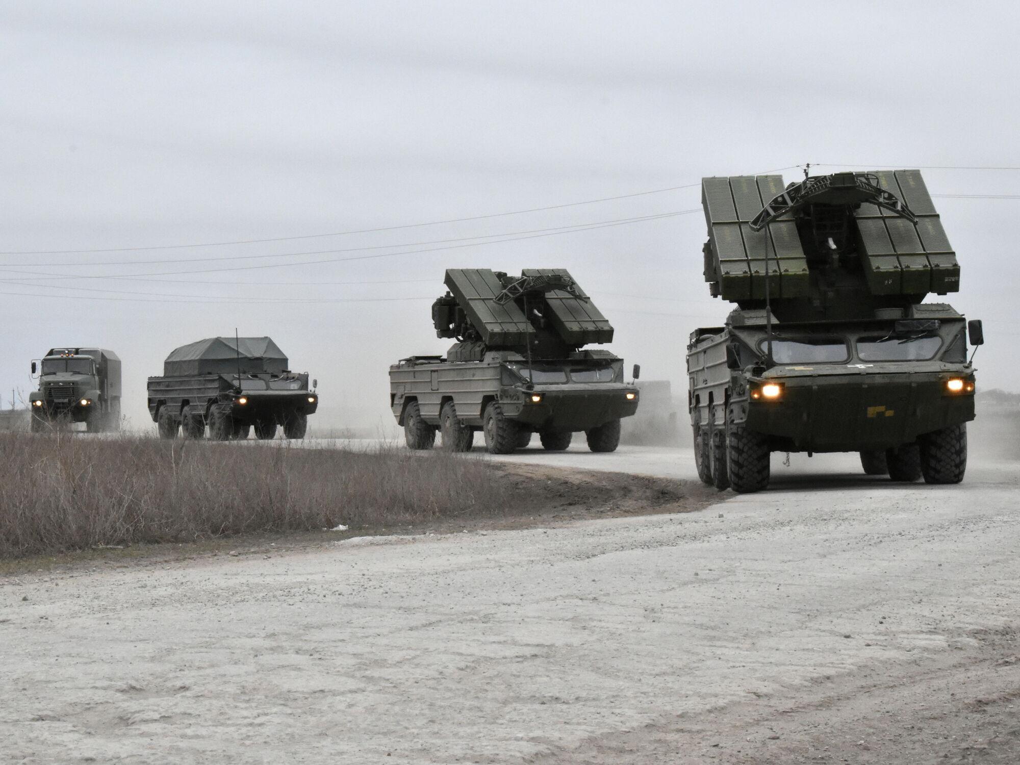 ЗСУ поблизу Криму тренувалися боротися з повітряною розвідкою противника