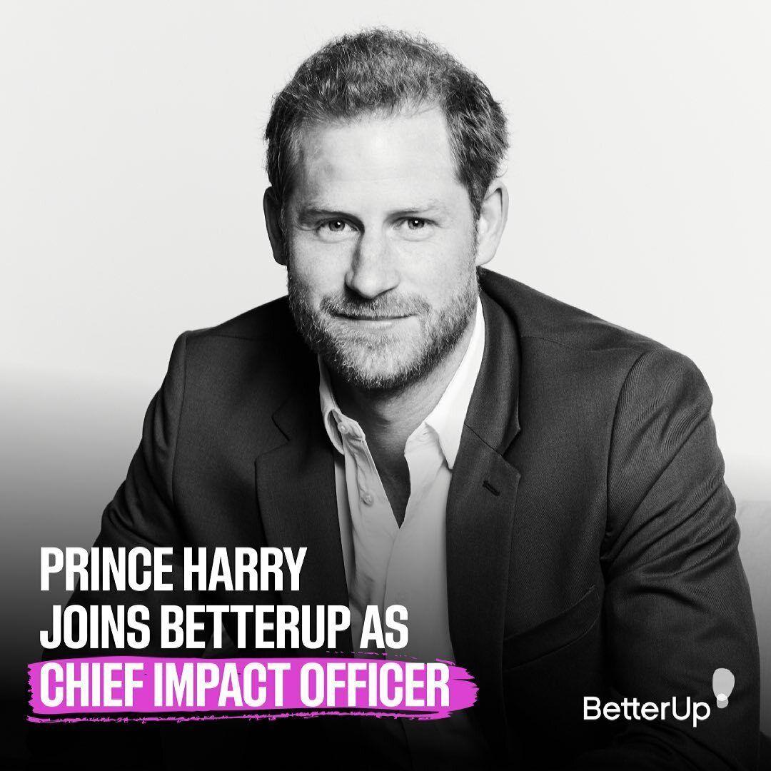 Принц Гарри на новой должности в компании