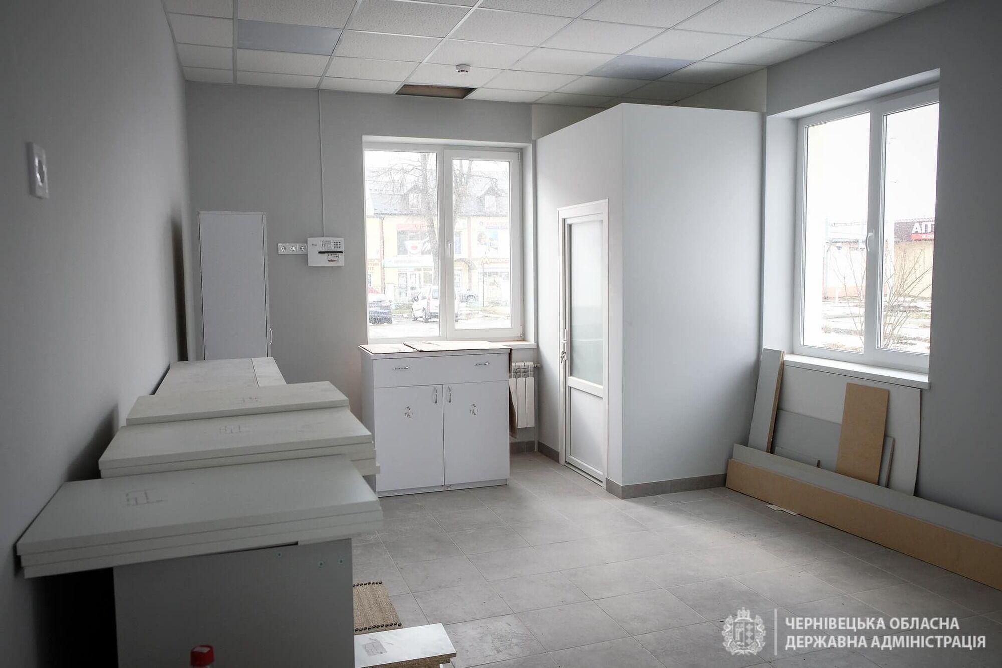 Новое приемное отделение в Сторожинецкой райбольнице