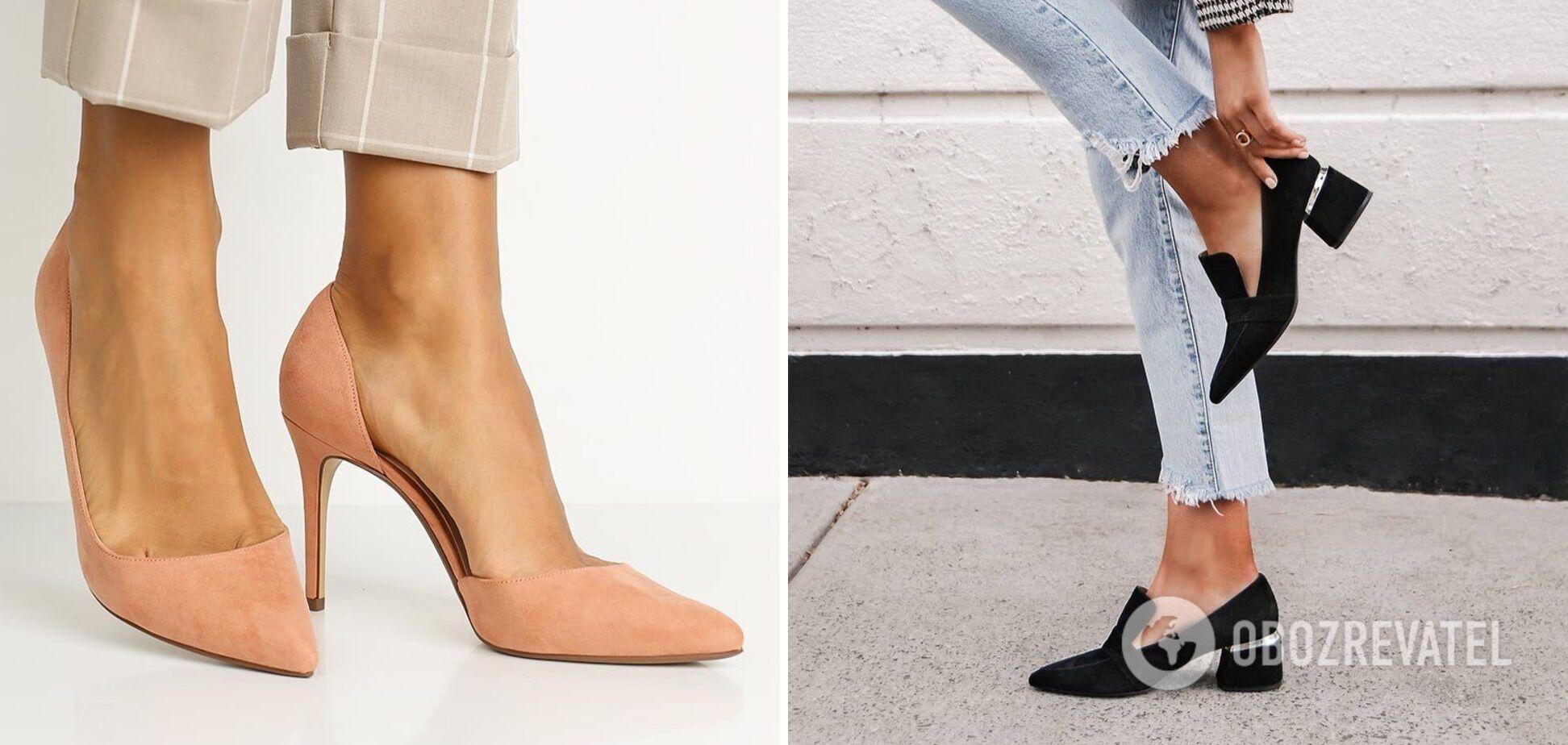 Остроносые туфли покорят любую модницу