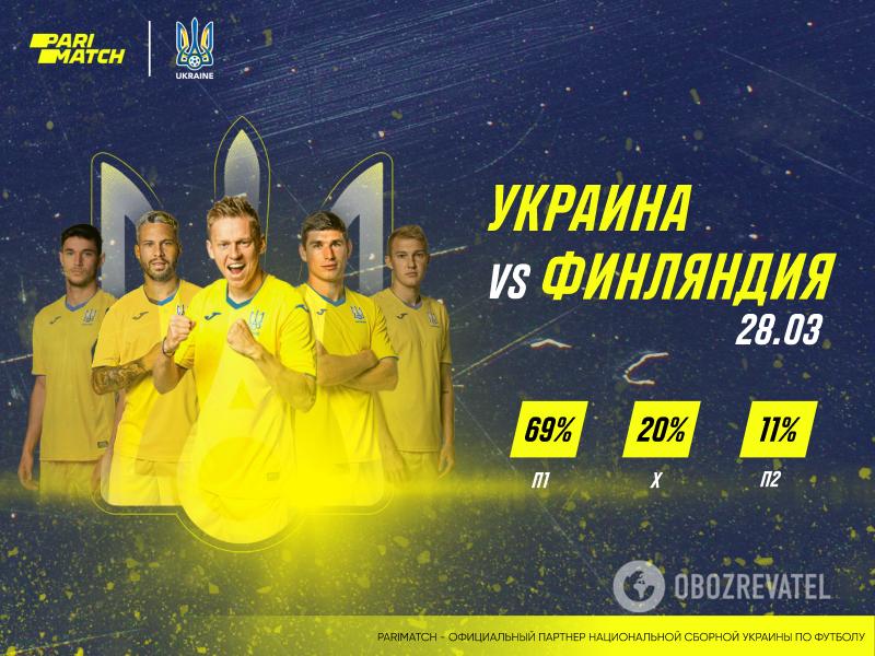 Прогноз на матч Украина – Финляндия