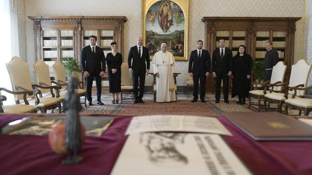 Шмыгаля принимали в Апостольском дворце в Ватикане