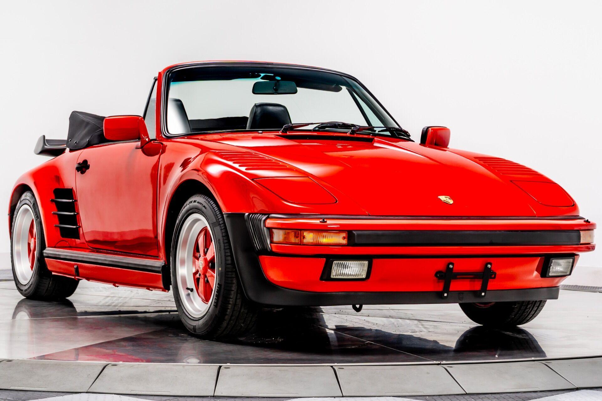 Кабріолет 911 Turbo Slantnose Cabriolet виготовили у 1988 році