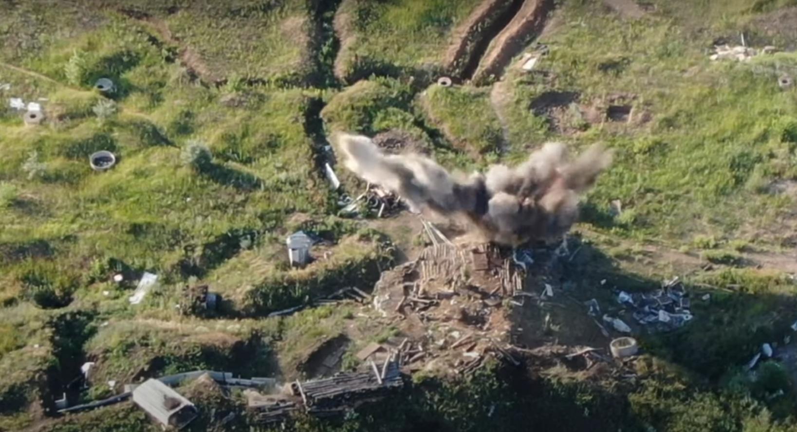 Воины ВСУ использовали для удара разрешенное оружие