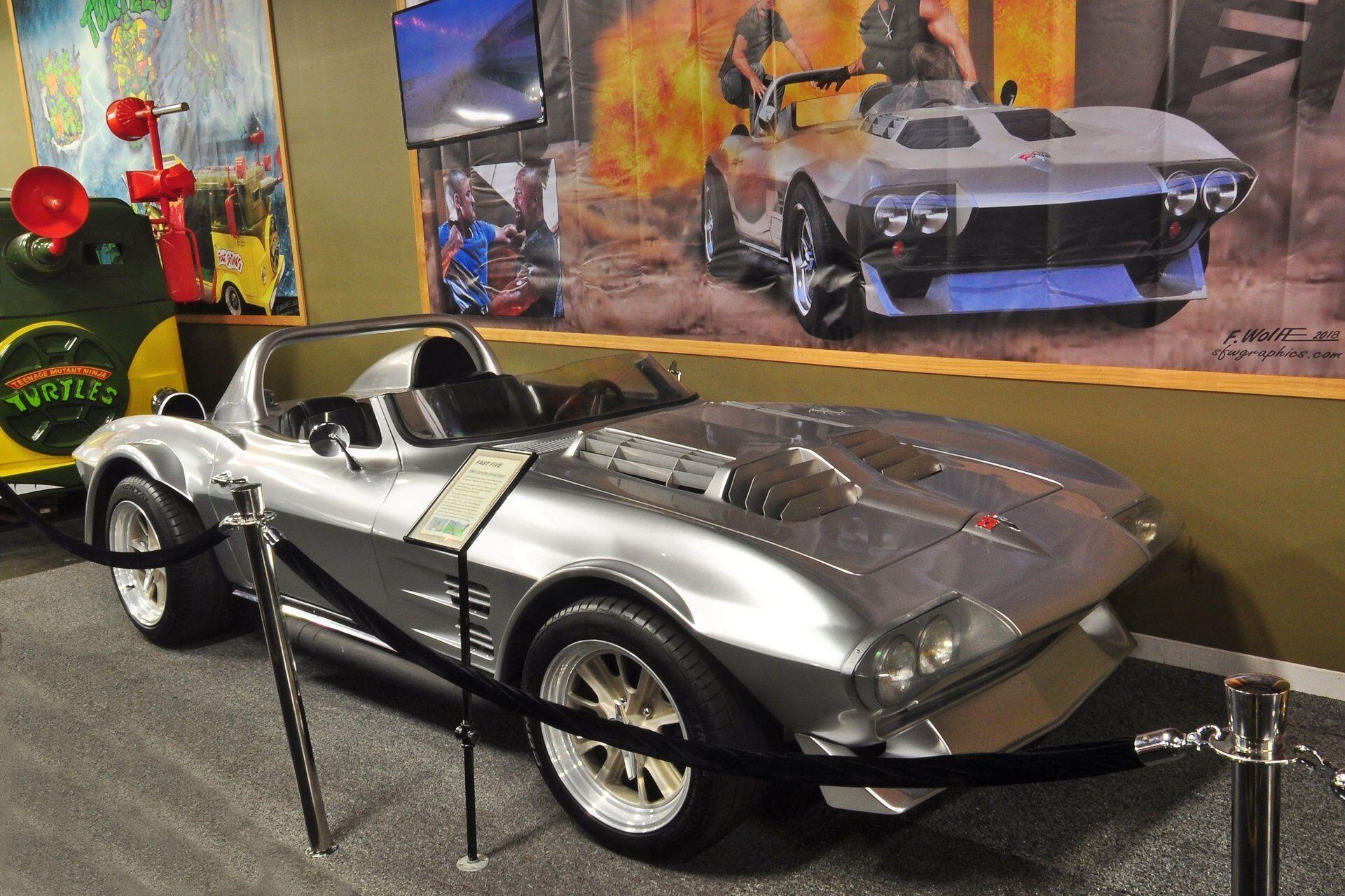 Автомобиль в экспозиции музея Volo Auto Museum