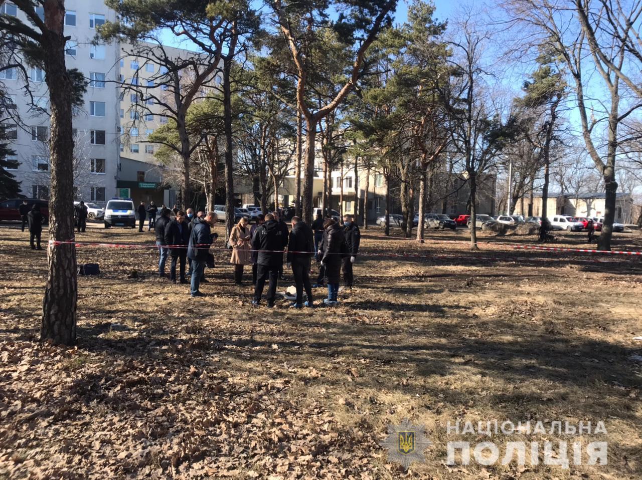Останки ребенка, которого нашли в Харькове, были присыпаны листьями