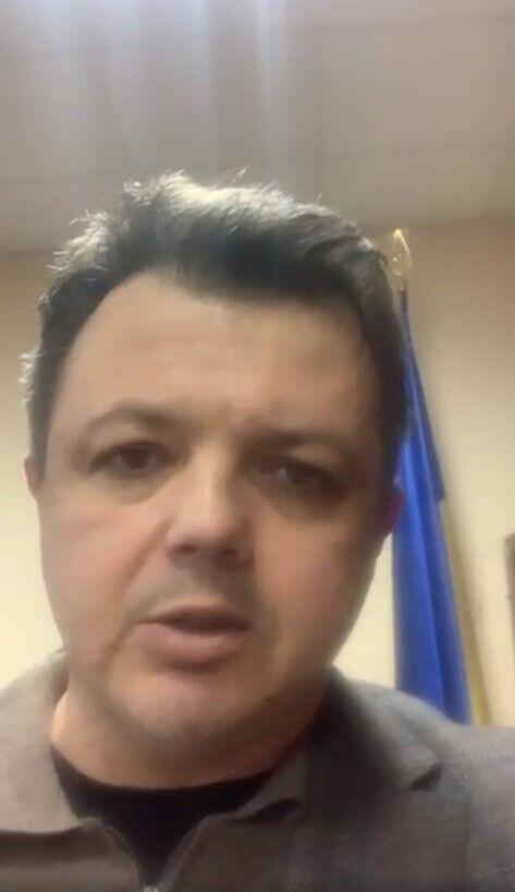 Семенченко записал обращение из суда.