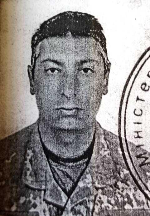 Військовий Барнич, який загинув на сході України.
