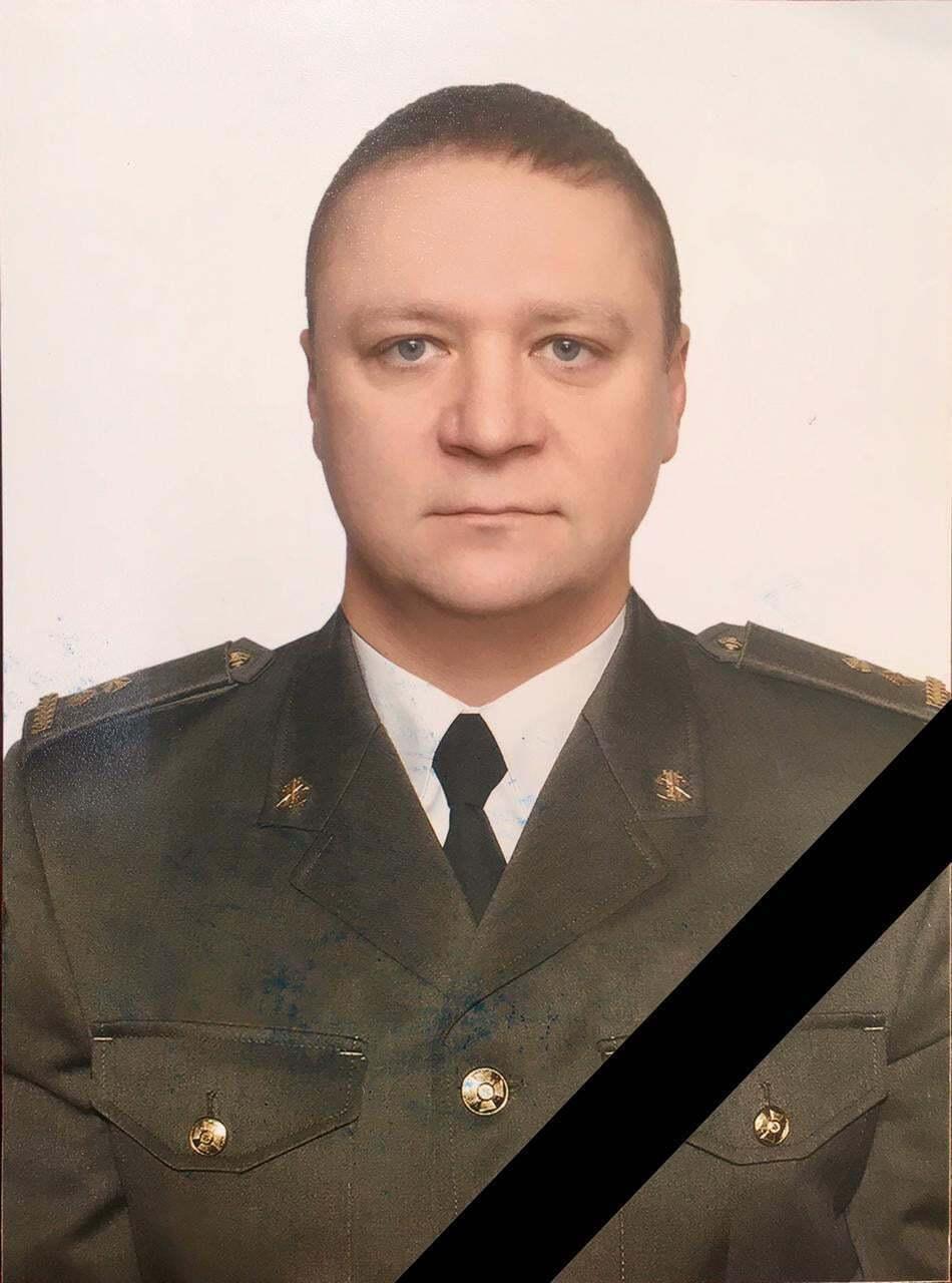 Загиблий підполковник ЗСУ.