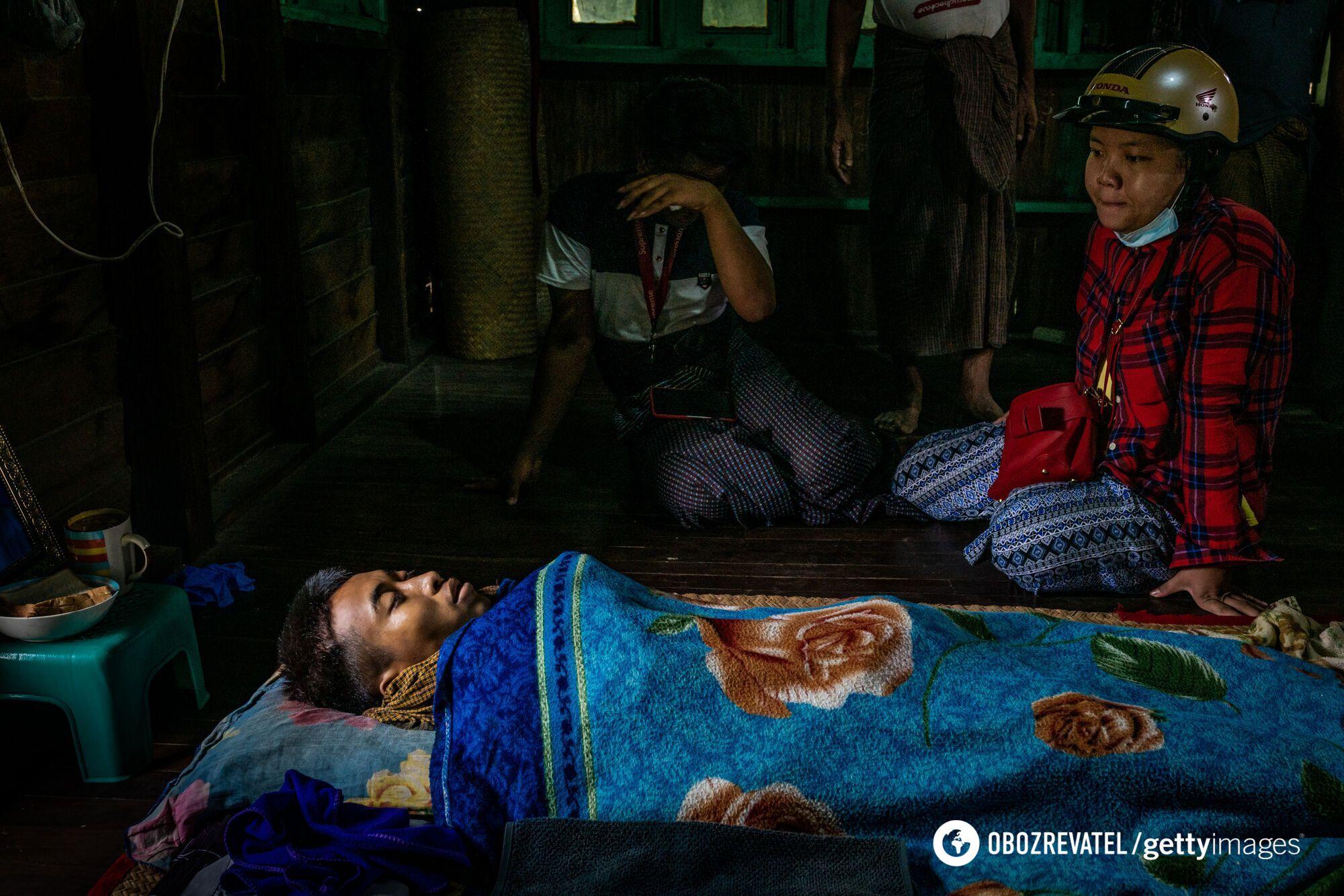 Еще один погибший во время протестов в Мьянме.