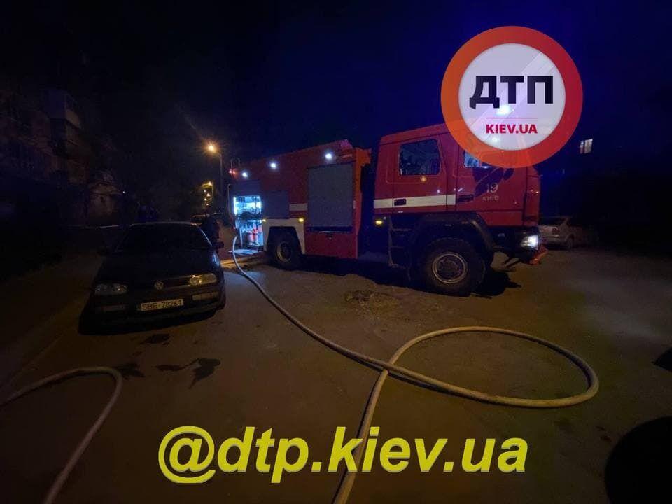 Пожежа в Києві.