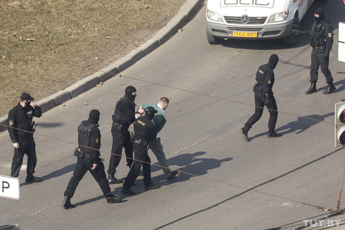 Задержания в Беларуси.