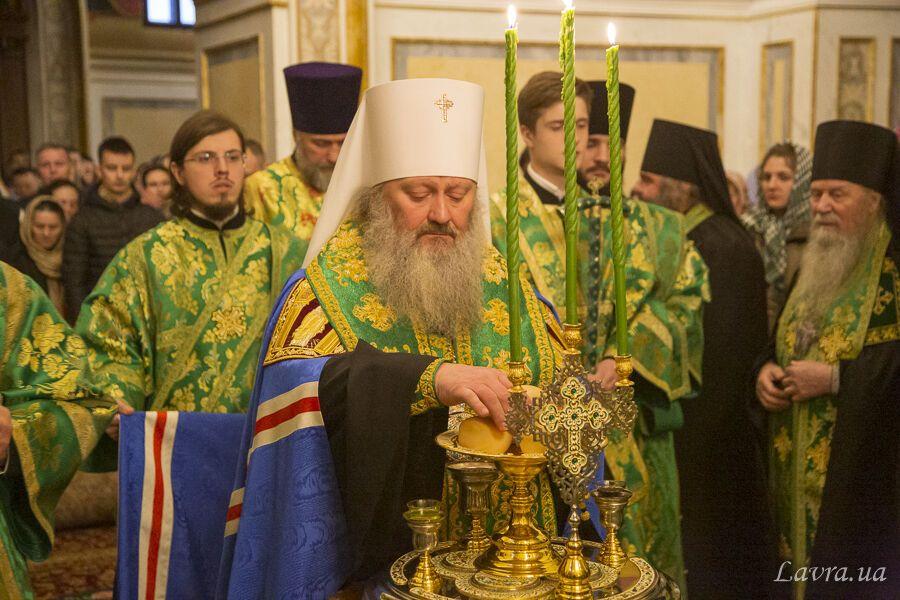 Службу провели священники РПЦ в Україні