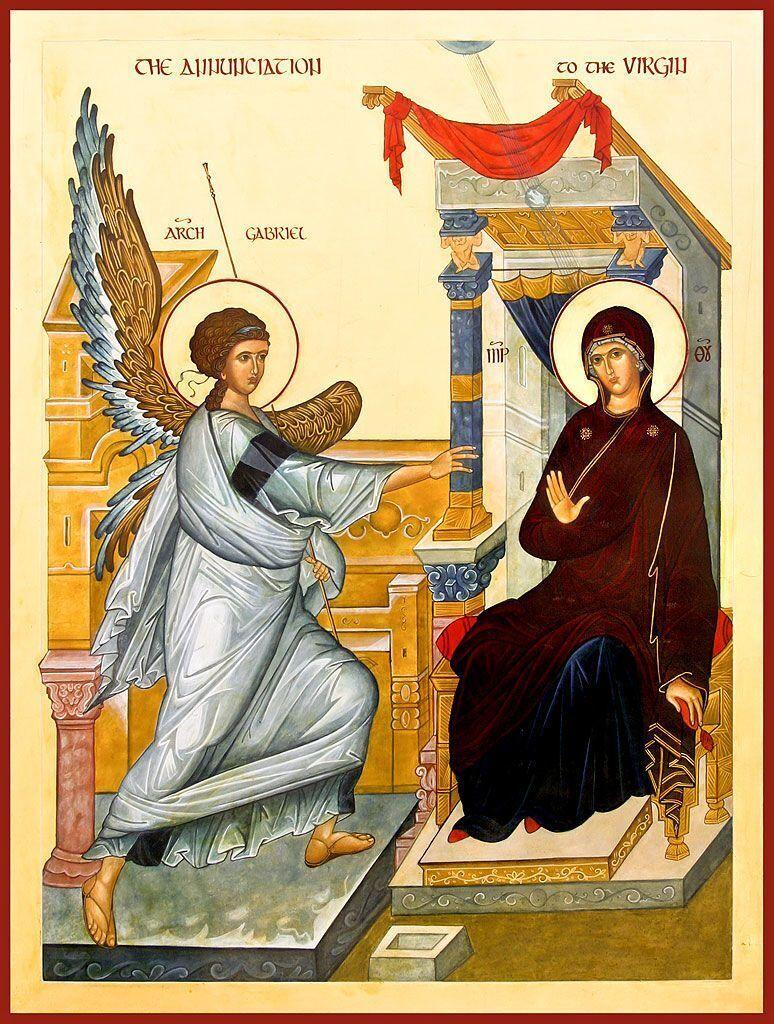 7 апреля отмечается Благовещение Пресвятой Богородицы