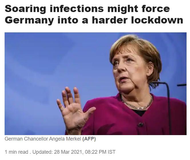 Меркель заговорила про нову пандемію: у ЗМІ побачили натяк на мегалокдаун