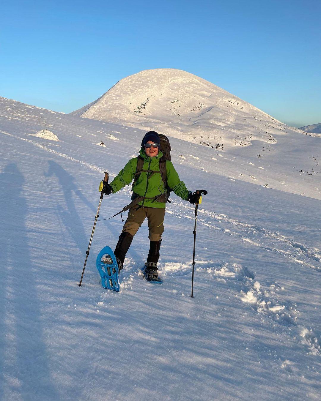 Педан підкорює гори