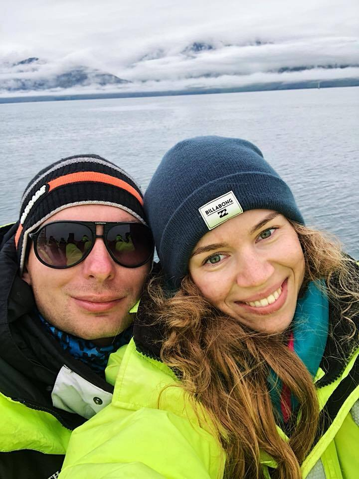 Нардеп Железняк с женой.