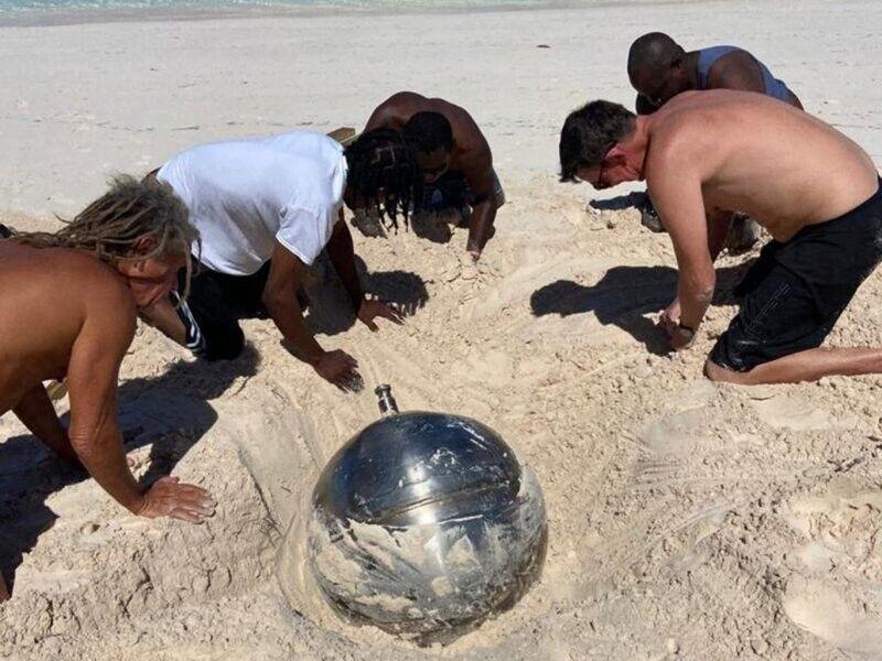 Частину ракети знайшли на пляжі