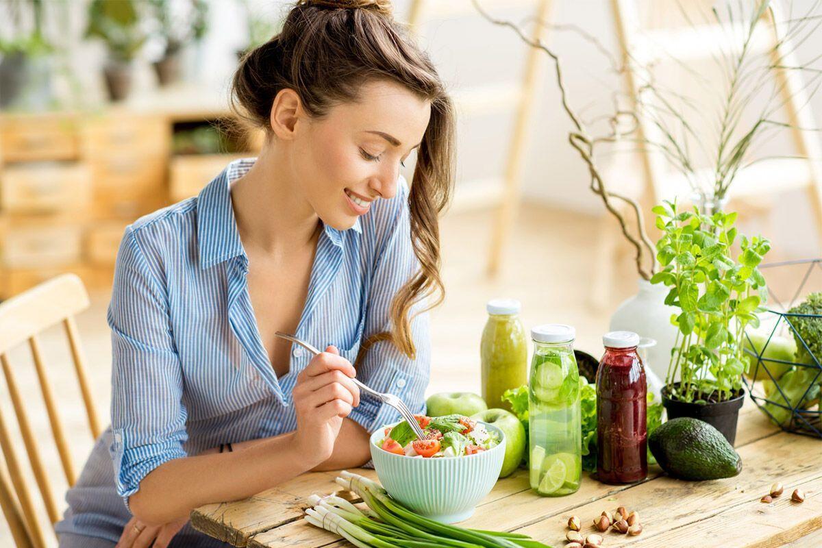 Клетчатка в салатах улучшит пищеварение