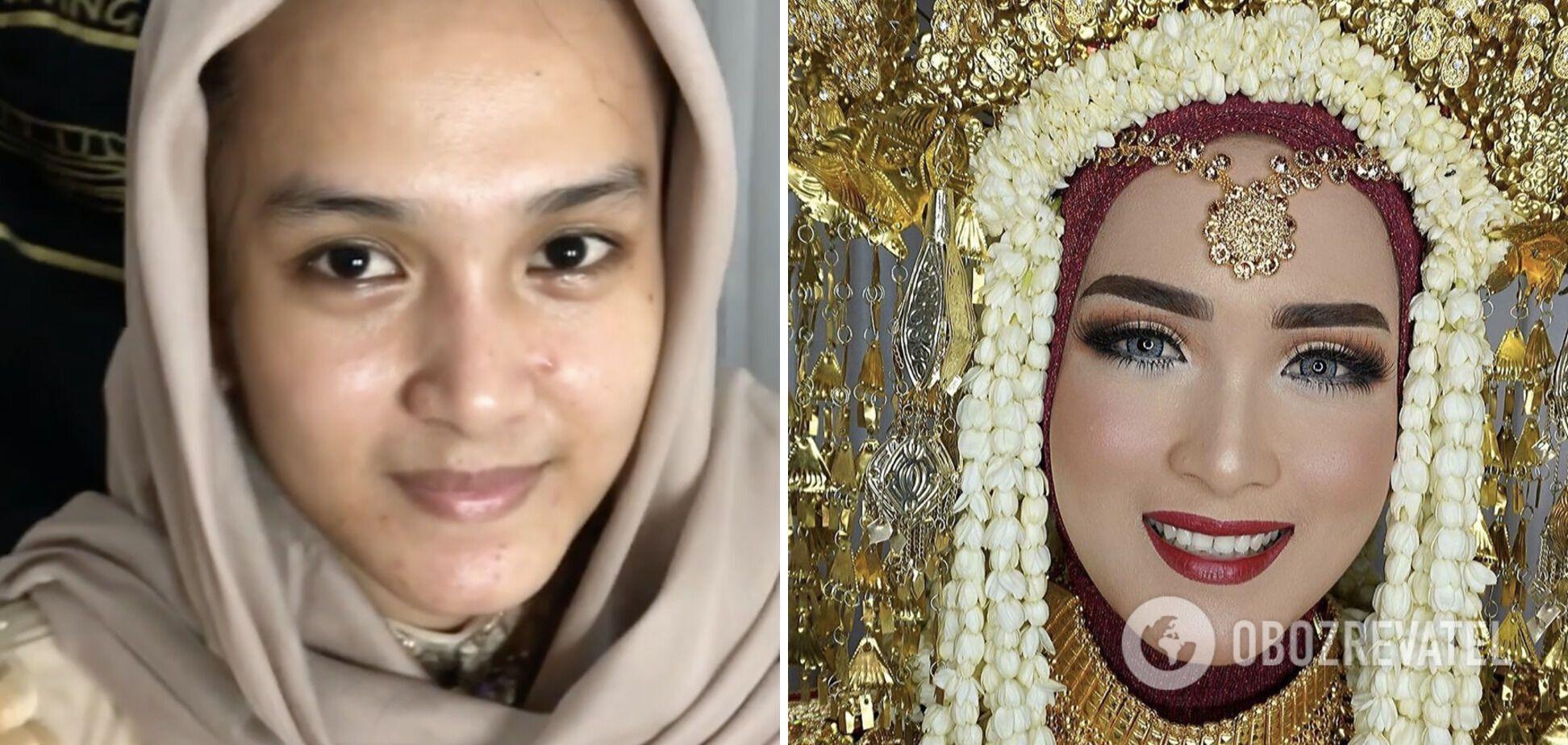 Азійська красуня мріяла про макіяж королеви