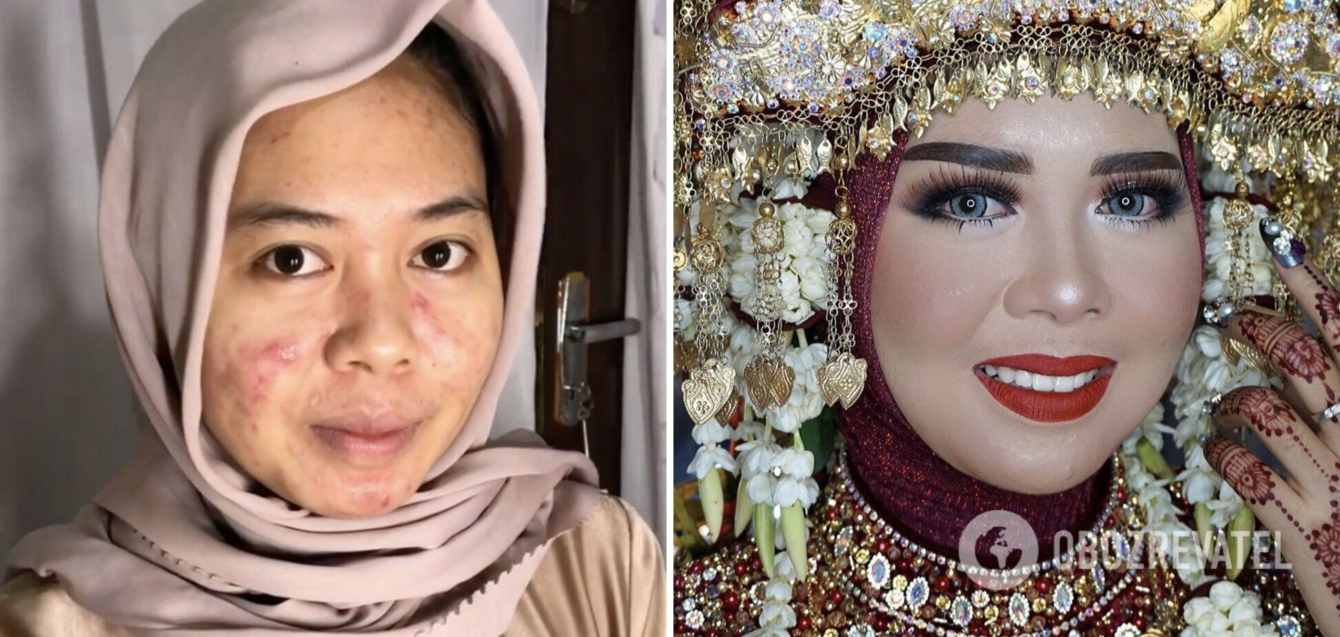 Індонезійська майбутня наречена мріяла про весілля, як у принцеси