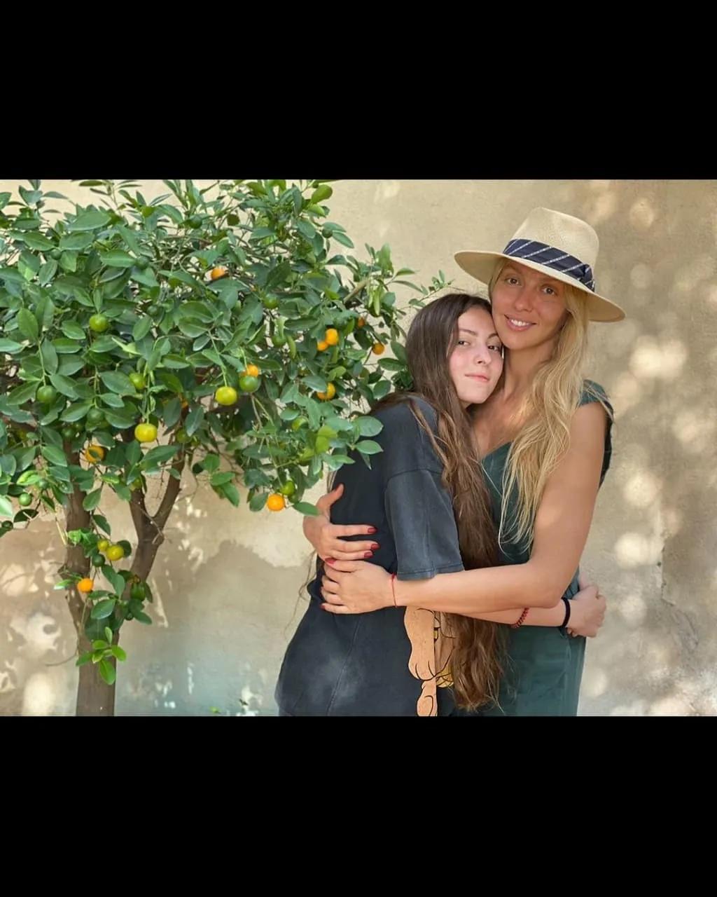 Полякова з дочкою зараз