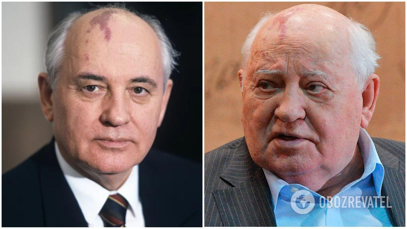 Михаил Горбачев когда был генеральным секретарем ЦК КПСС и сейчас