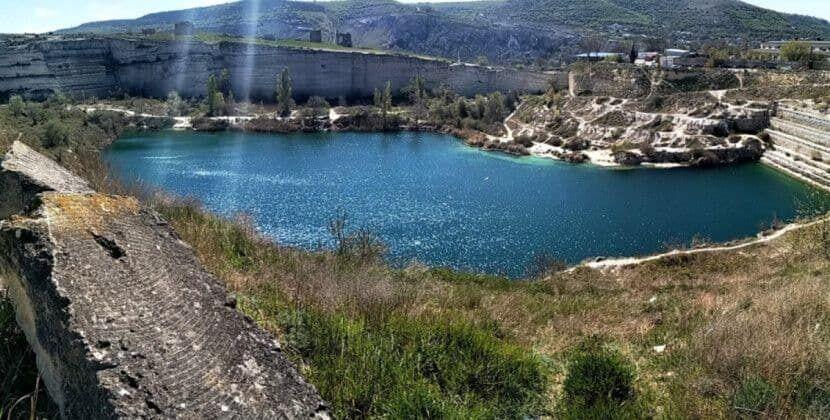 Так Інкерманське водосховище виглядало до засухи