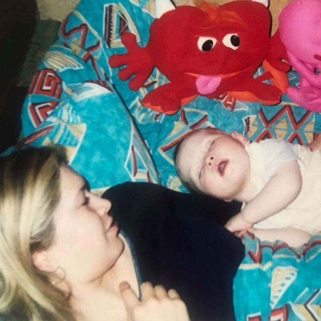 Віра Брежнєва з донькою Сонею